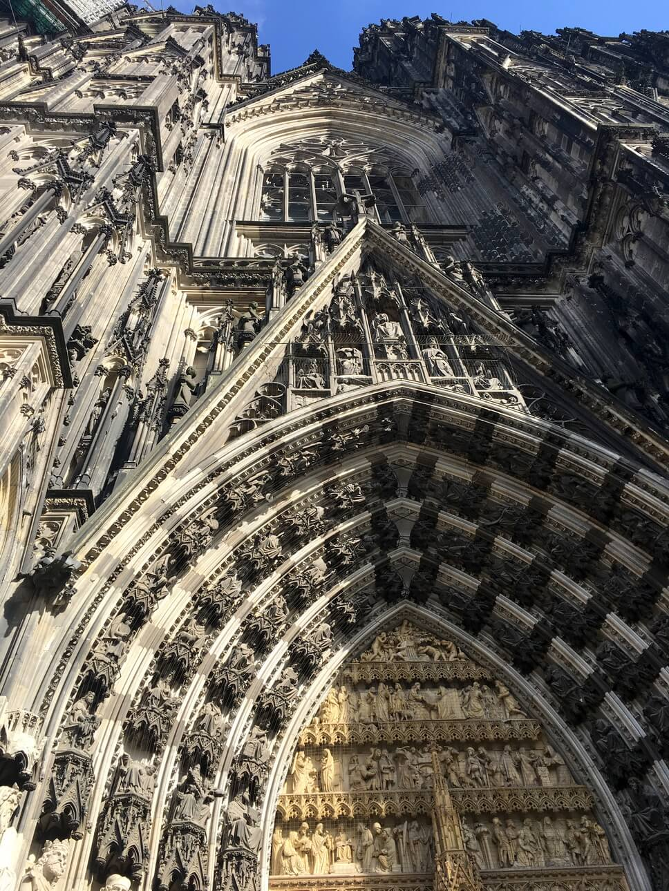 Catedral gótica de Colonia, Alemania. Patrimonio de la Humanidad por la UNESCO.
