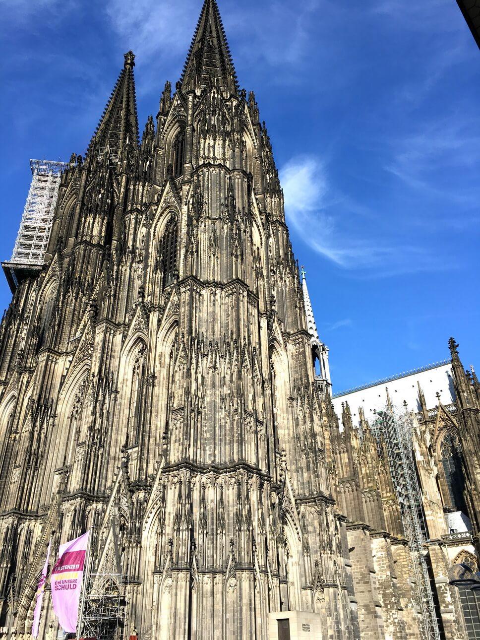 Catedral gótica de Colonia, Alemania. Patrimonio de la Humanidad por la UNESCO