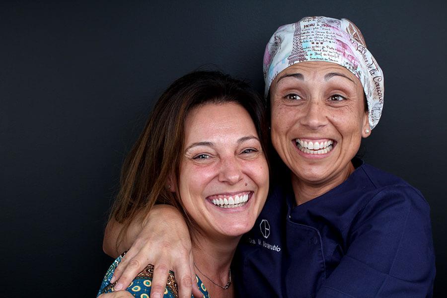 Després del tractament de carilles de compòsit amb Dra. Margarita Monterrubio